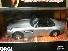 BMW Z8 CONVERTIBLE    2001 CORGI JAMES BOND 007 THE WORLD IS NOT ENOUGH  1:43