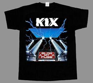 KIX - Blow My Fuse - Shirt - '80s Hard Rock Metal Tee