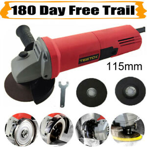Electric Angle Grinder 115mm with 2 Blades | Corded Angle Grinder 4.5 inch 850W