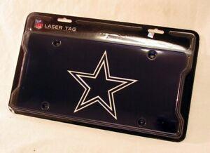 Dallas Cowboys Logo Mirror Look LASER License Plate