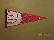 MLB St.Louis Cardinals Vintage 2004 Leather Strings Logo Baseball Pennant