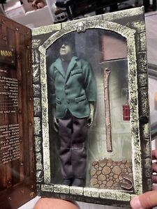 """SIDESHOW FRANKENSTEIN MEETS THE WOLF MAN 12"""" FIGURE LUGOSI UNIVERSAL MONSTERS"""