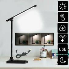 Reading light Table Lamp LED Desk Touch Sensor 8W Bed side Dimmable Flexible AU