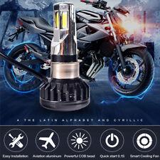 Motorcycle LED Headlight Bulb H4 HS1 BA20D P15D H6 3500LM 35W Hi/Lo Beam Light