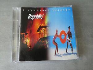 New Order – Republic cd album punk new wave kbd