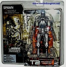 T-800 Endoskeleton Terminator 2 Movie Maniacs Series 5 McFarlane Toys