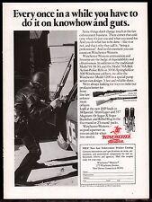 1977 WINCHESTER Model 70A Bolt Action Police Rifle, 94 Carbine, 1200 Shotgun AD