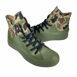 Converse All Stars Camo Shoes Size 5 Men / 7 Wmn Waterproof Camouflage Rubber