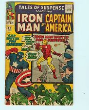 Tales of Suspense 60 6.0 FN 2nd Appearance Hawkeye Iron Man Marvel Comics