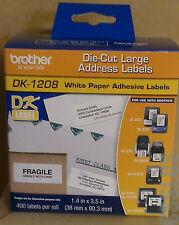 BROTHER DK1208 DK-1208 Address Label QL-1050N QL-1060N QL-1050 Die-Cut Roll