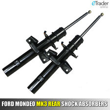 FORD MONDEO MK3 REAR SHOCK ABSORBERS STRUT PAIR 2000>2007 ABSORBER x 2 BRAND NEW
