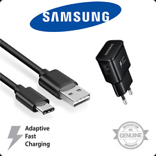Caricabatterie Rapido Originale Samsung Cavo Usb Type-C Per Galaxy S8 S9 Note 9