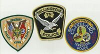 Millington / Cleveland / Shelby (TENNESSEE) Police/Sheriff Patches