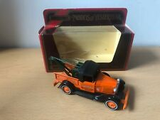 Matchbox Models Of Yesteryear Y7 Ford Breakdown Truck - Barlow - Macau Base