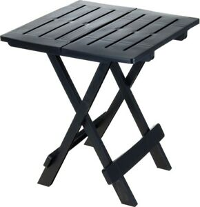 Folding Camping Table Heavy Duty Plastic Portable Outdoor BBQ Picnic Dining