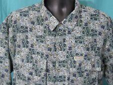 Columbia Sportswear Shirt XL Outdoors Short Sleeve