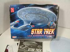 AMT 1/2500 Star Trek USS Enterprise NCC-1701-D Snapit model Kit - NO DECALS