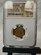Byzantine Empire Gold Solidus Phocas AD 602-610 CH/XF Bryan King Collection