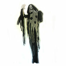 """Tall Evil Witch Halloween Haunted House Party Prop 7 Ft 82"""""""