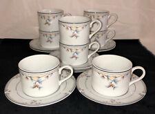 COFFEE MUG Princess House China Fine Porcelain Heritage Blossom FLAT TEA CUP