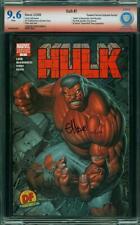 Hulk #1 SIGNED! CBCS 9.6 Near Mint + WoW @@ WoW