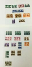 MOMEN: SOUTH WEST AFRICA USED COLLECTION ON 2 PAGES LOT #6238