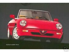 Alfa Romeo Spider 1991, 1992, 1993 Dvd Manual, Manuals