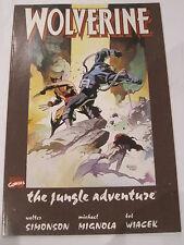 WOLVERINE : The JUNGLE ADVENTURE, SOFT COVER GRAPHIC NOVEL by SIMONSON & MIGNOLA