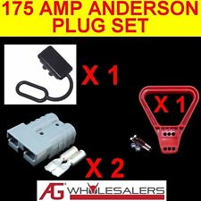 175 AMP ANDERSON STYLE PLUG SET  PLUGS  DUST CAP HANDLE 175a.9