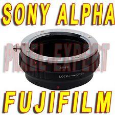 Lens Adapter for Sony Alpha Fuji Camera x-pro1 x-e2 x-t1 x-e1 x-m1