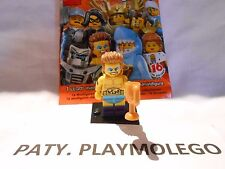 Ref.71011 MINI FIGURINE LEGO LE CHAMPION DE CATCH N°14 - Série N°15