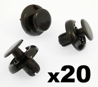 20x Ford Transit V362 Custom- Rear panels back door interior trim lining clips