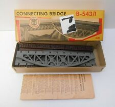 VINTAGE Faller HO 543 Single Track Arched Straight Bridge Kit