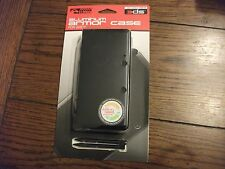 Cosmo Black Aluminum Armor Case for Nintendo 3DS with 2 Stylus, Unhinged (KMD)