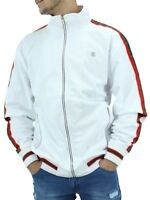 Rocawear Mens Lightweight Star Zip Up Track Jacket Hip Hop G Time Money Is