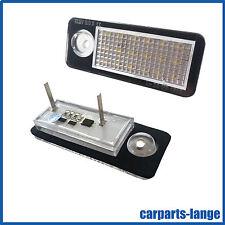 LED SMD SET Audi A6 Avant Kennzeichenbeleuchtung Kennzeichen Leuchte