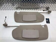 02-08 DODGE RAM 1500 2500 LIGHTED SUNVISOR SET SUN VISORS DRIVER PASSENGER OEM