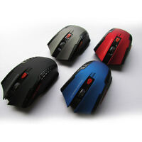 2.4GHz Foldable Wireless Optical Mouse Mice + USB Receiver For PC Laptop 1200dpi