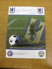 03/02/2018 Lye Town v Shawbury United  . Thank you for viewing this item availab
