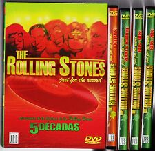 ROLLING STONES: JUST FOR THE RECORD. 5 décadas. Agotado en todo formato digital