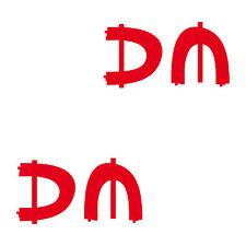 2 Aufkleber DM Spirit 15cm Auto Fenster Spiegel Tattoo Deko Folie Depeche Mode