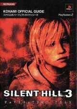 SILENT HILL 3 JAPAN GUIDE BOOK FILE 2003 PS2 GAME KONAMI SURVIVAL HORROR
