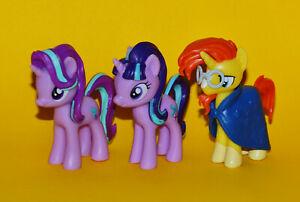 My Little Pony: Starlight Glimmer and Sunburst Trio - Set of 3 Egmont Figures