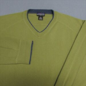 PATAGONIA 100% CASHMERE V NECK SWEATER---SOFT!!!!!!----EXCEPTIONAL QUALITY!
