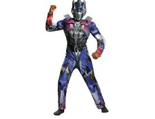Transformers Optimus Muscle Jumpsuit  & Mask Outfit NEW Sz M