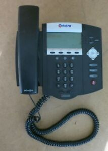 Polycom Soundpoint IP450 SIP IP VoIP Desktop Telephone 2201-12450-001 NO Stand