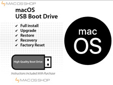 ⏩ Apple Mac OS MacOS X OSX on 16 GB USB Drive System Installer - Fast Shipping