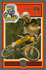 Vintage 1980's Torker BMX Happy 9th Birthday Greeting Card ~ 9 Years Old