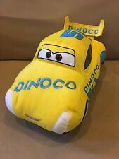 "DISNEY PIXAR RACE CAR #51 DINOCO 14"" PLUSH PILLOW Jay Franco & Sons 5th Avenue"