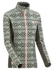 Kari Traa Damen Pullover Sweater Gr.M (DE 38) Fleecejacke Full-Zip Grün 117616